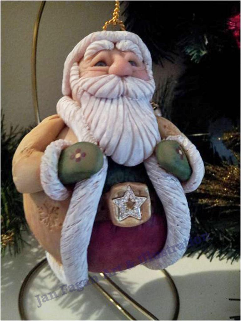 Santa in Rawhide Coat Watermarked