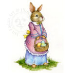 Easter Rabbit Illustration
